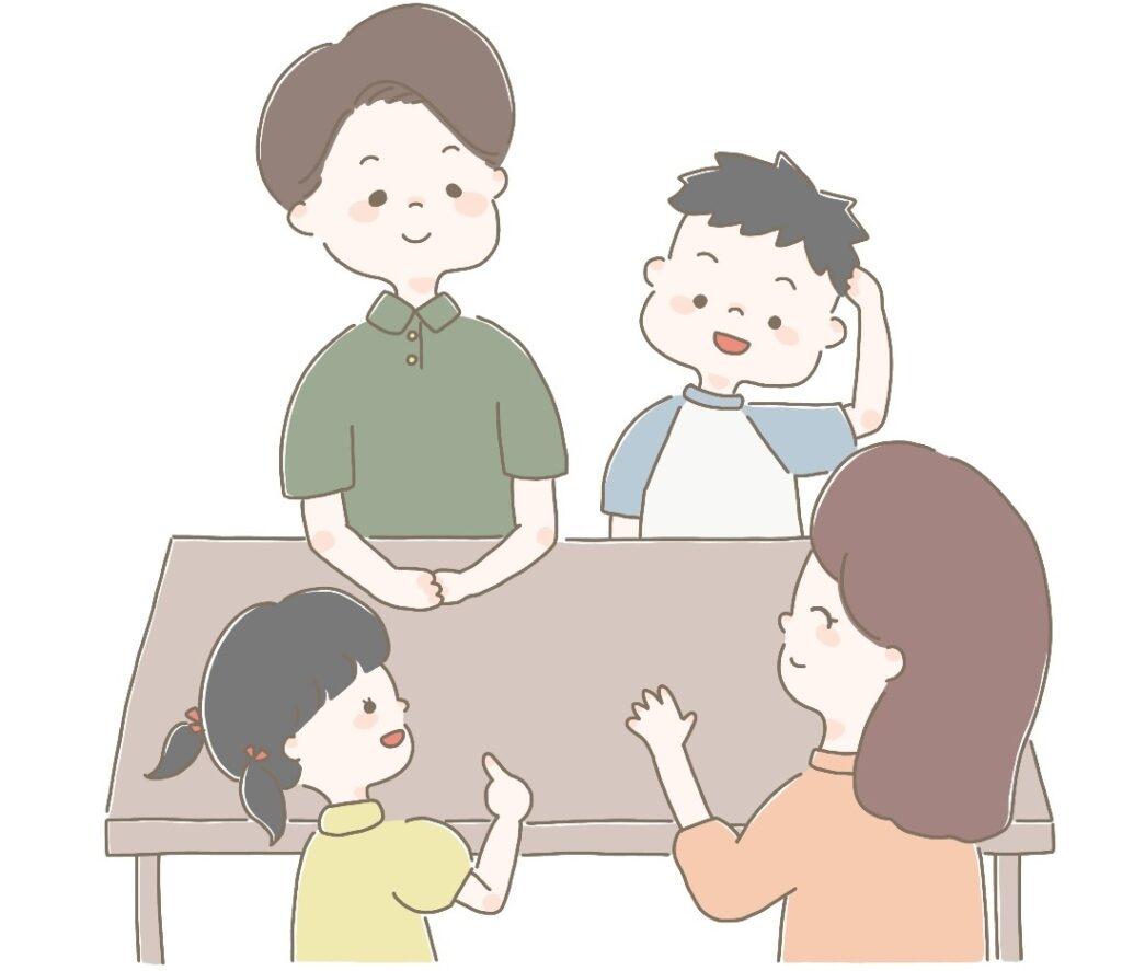 家庭教師を始めるかの家族会議